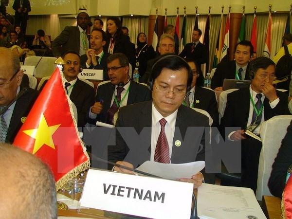 Le Vietnam a la 8eme Conference des ministres des Affaires etrangeres du FEALAC hinh anh 1