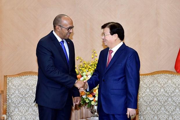 Trinh Dinh Dung appelle a un engagement plus fort du comite intergouvernemental Vietnam-Cuba hinh anh 1