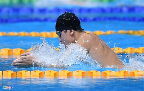 SEA Games 29 : Kim Son fait sensation sur 400 m x 4 nages hinh anh 2