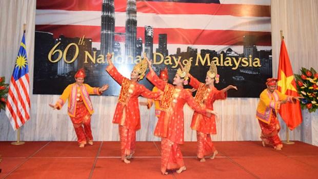 Celebration du 60e anniversaire de la Fete nationale de Malaisie a Hanoi hinh anh 3