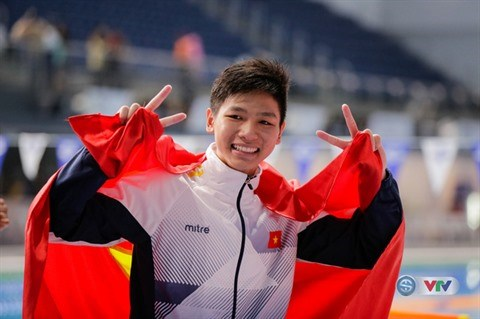 SEA Games 29 : Kim Son fait sensation sur 400 m x 4 nages hinh anh 1