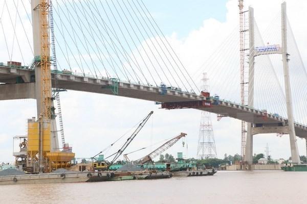 Dong Thap : raccordement du pont Cao Lanh sur le fleuve Tien hinh anh 1