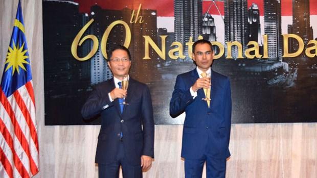 Celebration du 60e anniversaire de la Fete nationale de Malaisie a Hanoi hinh anh 2