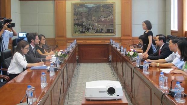 Hai Phong et la CCIFV s'engagent a cooperer dans la lutte contre les changements climatiques hinh anh 1