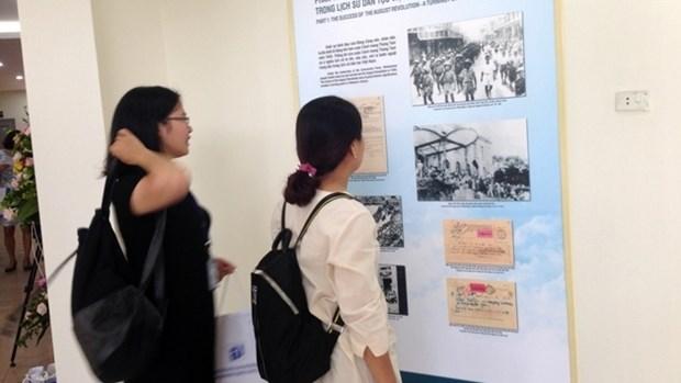 Exposition de la collection de decrets du President Ho Chi Minh hinh anh 1