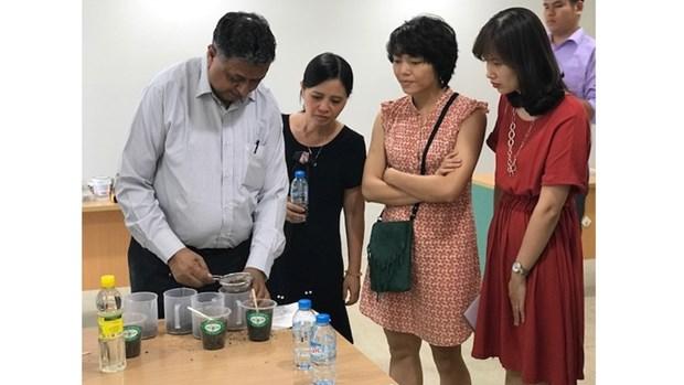 Le programme de science et d'education sur l'environnement GLOBE s'ouvre a Hanoi hinh anh 1