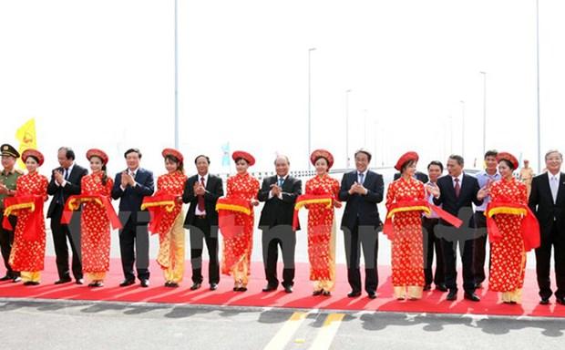 Mise en service d'un des plus longs ponts maritimes en Asie du Sud-Est a Hai Phong hinh anh 1