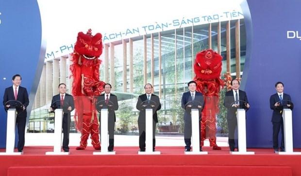 Les travaux debuteront lors du premier complexe de construction automobile du Vietnam hinh anh 1