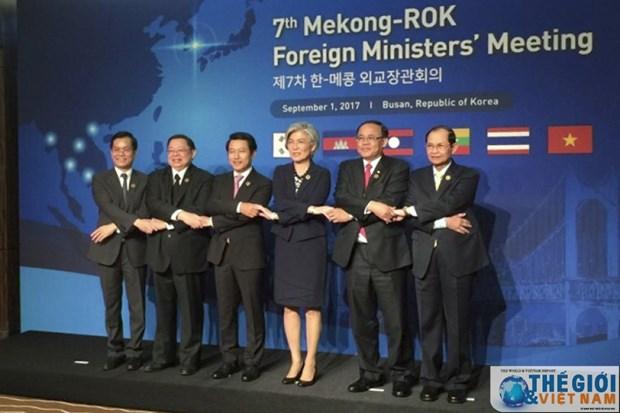 Conference des ministres des Affaires etrangeres Mekong-R. de Coree hinh anh 1