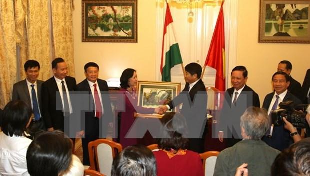 Le PCV veut renforcer les liens avec le Parti socialiste hongrois hinh anh 1