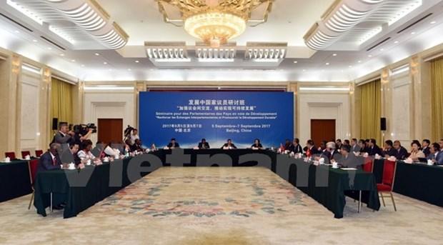 Le Vietnam participe a une conference de l'UIP a Pekin hinh anh 1