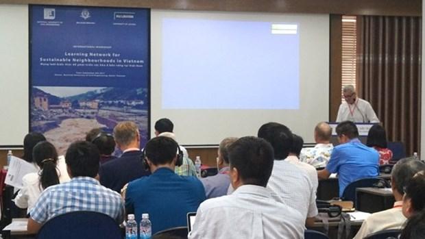 Le developpement urbain durable du Vietnam au cœur d'un colloque international hinh anh 1