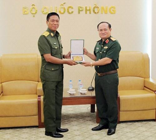 Vietnam et Myanmar cooperent dans la medecine militaire hinh anh 1