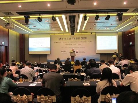 Succes de l'Accord de libre-echange Vietnam - Republique de Coree hinh anh 1