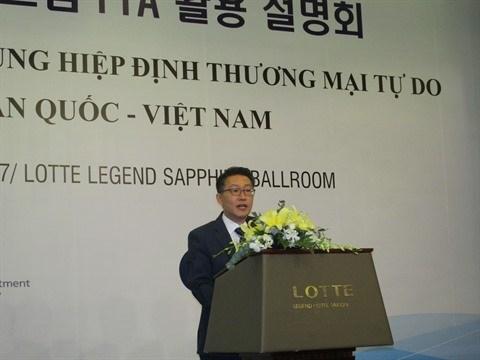 Succes de l'Accord de libre-echange Vietnam - Republique de Coree hinh anh 2