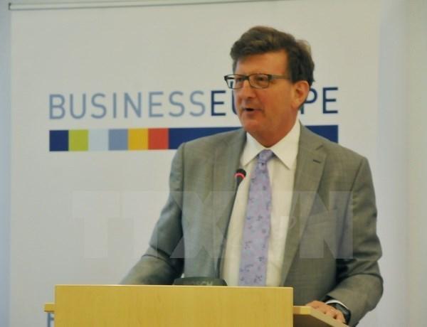 L'UE veut appliquer l'EVFTA des que possible hinh anh 1