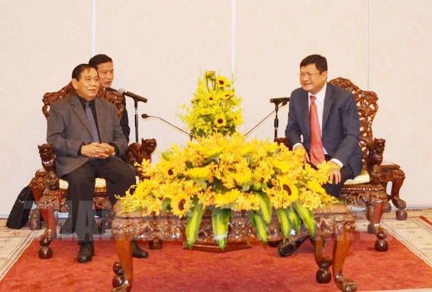 Ho Chi Minh-Ville promeut la cooperation en matiere d'inspection avec le Cambodge hinh anh 1