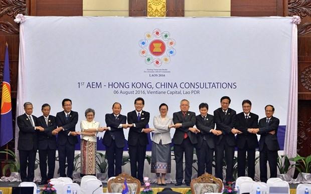 L'ASEAN et Hong Kong (Chine) concluent leurs negociations sur l'ALE hinh anh 1