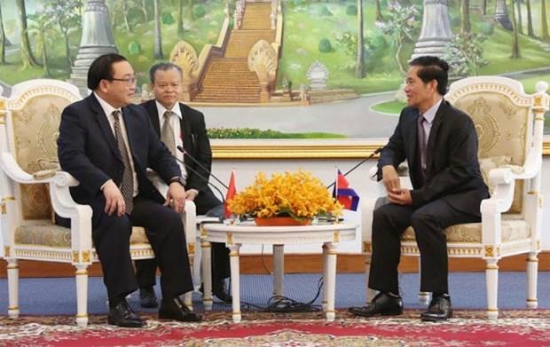 Hanoi et Phnom Penh renforcent la cooperation bilaterale hinh anh 2