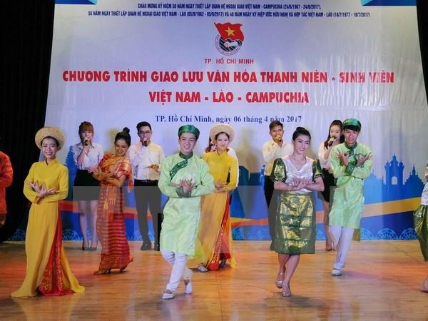 Jeunesse: Ho Chi Minh-Ville intensifie la cooperation avec le Laos et le Cambodge hinh anh 1