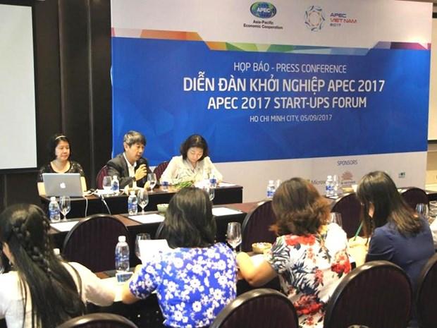 Bientot le Forum des start-up de l'APEC 2017 a Ho Chi Minh-Ville hinh anh 1