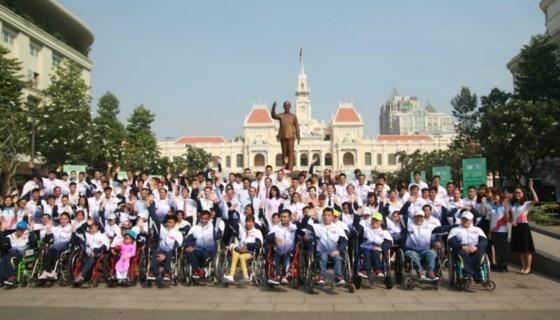 Ceremonie de depart de la selection nationale pour les ASEAN ParaGames 9 hinh anh 1