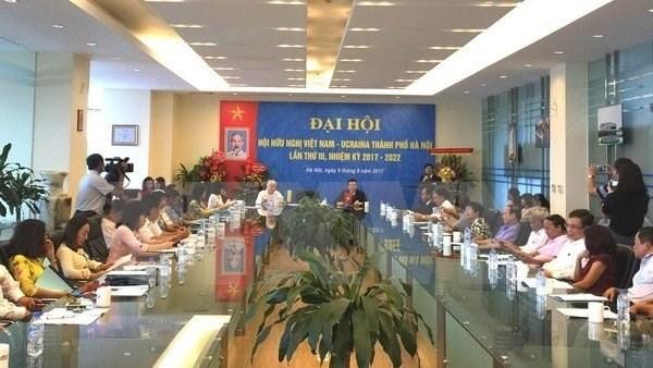 L'Association d'Amitie Vietnam - Ukraine de Hanoi œuvre pour l'essor des relations bilaterales hinh anh 1