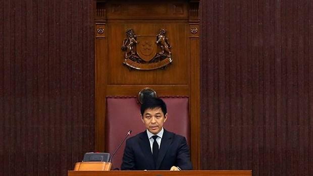 Singapour elit un nouveau president du Parlement hinh anh 1