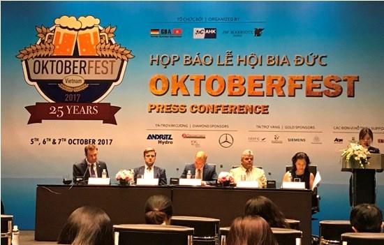 Le festival de la biere d'Oktoberfest 2017 se tiendra a Ho Chi Minh-Ville et Hanoi hinh anh 1