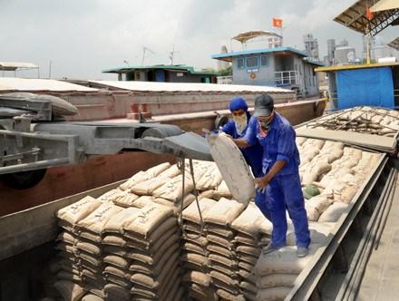 Forte croissance des exportations de clinker et de ciment en Chine hinh anh 1