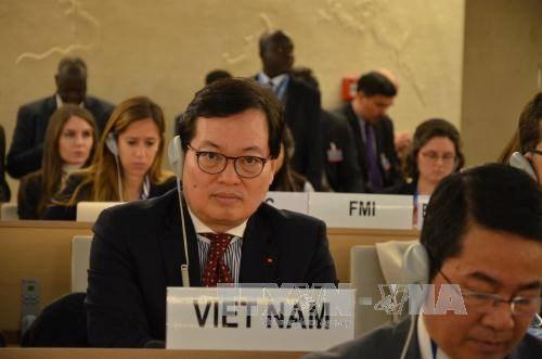 Ouverture de la 36e session ordinaire du Conseil des droits de l'homme des Nations Unies hinh anh 1