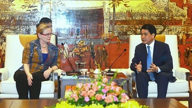 Hanoi promeut la cooperation avec la province du Cap occidental (Afrique du Sud) hinh anh 1