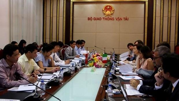 L'Italie soutient l'APD pour moderniser l'infrastructure ferroviaire au Vietnam hinh anh 1