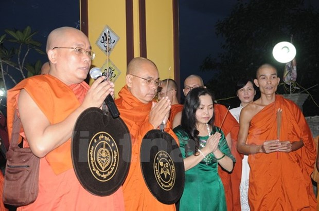 Myanmar : priere pour les morts pour la Patrie du Vietnam hinh anh 1