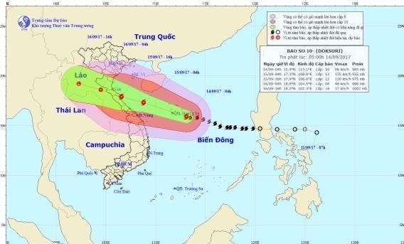 Le Premier ministre demande des mesures preventives en prevision du typhon Doksuri hinh anh 1