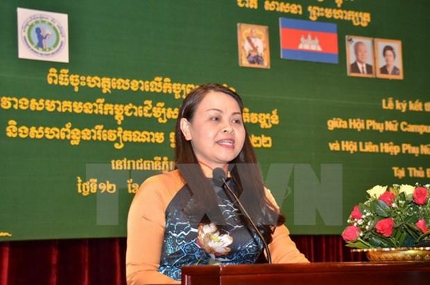 Developpement de l'amitie Vietnam-Cambodge hinh anh 1