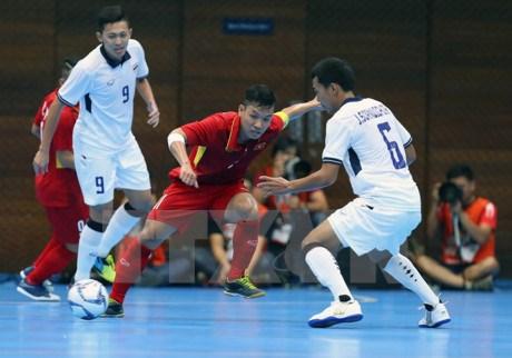 Asian Indoor Games 2017: l'equipe du Vietnam de futsal determinee a s'illustrer hinh anh 1