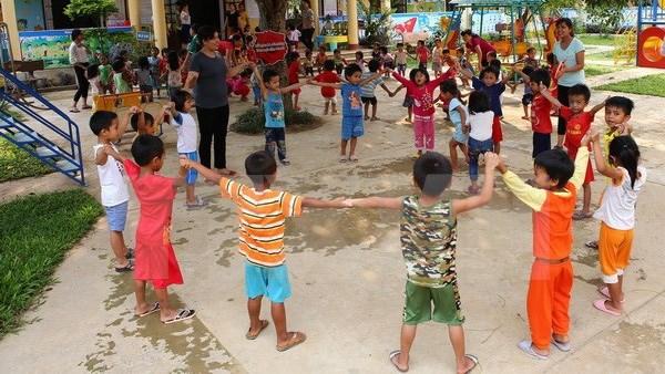 L'UNICEF aide le Vietnam a ameliorer le developpement integre de la petite enfance hinh anh 1