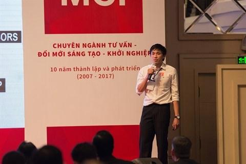 ShareCarForAds remporte le 1er prix du concours Swiss Innovation Challenge Vietnam 2017 hinh anh 1
