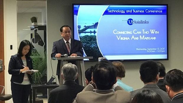 Can Tho - Etats-Unis : promotion de l'investissement dans les technologies et le commerce hinh anh 1