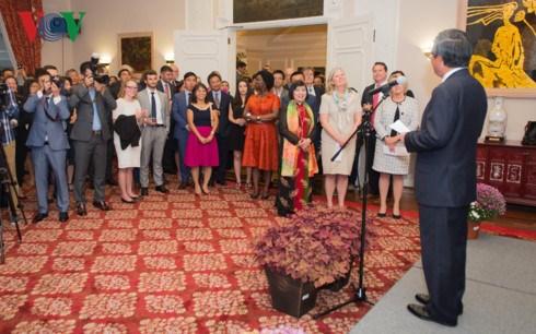 L'ambassade du Vietnam aux Etats-Unis celebre la Fete nationale hinh anh 1