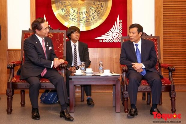 Vietnam et Japon promeuvent la cooperation culturelle, sportive et touristique hinh anh 1