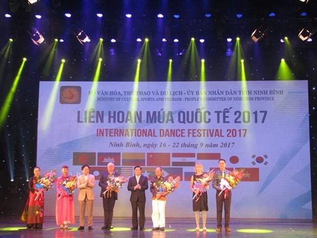 Ouverture du Festival international de danse 2017 hinh anh 1