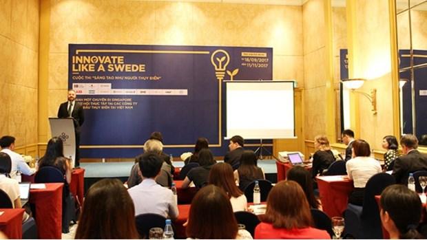 Lancement du concours « Innover comme un Suedois » au Vietnam hinh anh 1