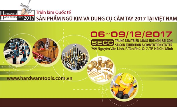 Bientot l'exposition Vietnam Hardware & Hand Tools Expo 2017 hinh anh 1