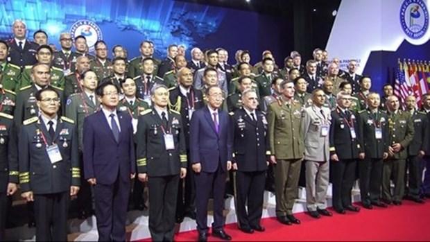 Le Vietnam a la conference des commandants d'infanterie du Pacifique hinh anh 1
