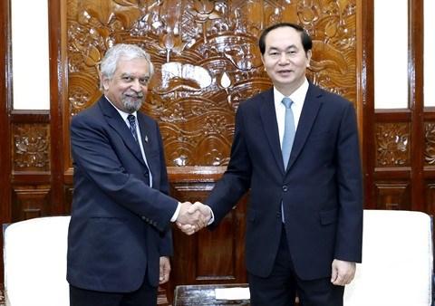 """Le president """"tres optimiste"""" de l'avenir des relations Vietnam-ONU hinh anh 1"""