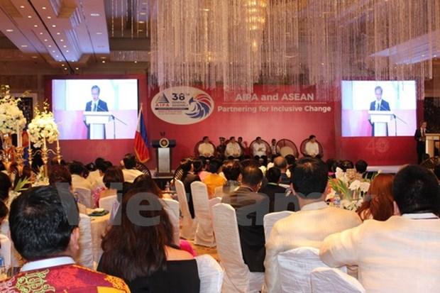 L'AIPA-38 s'oriente vers la Communaute de l'ASEAN substantielle hinh anh 1