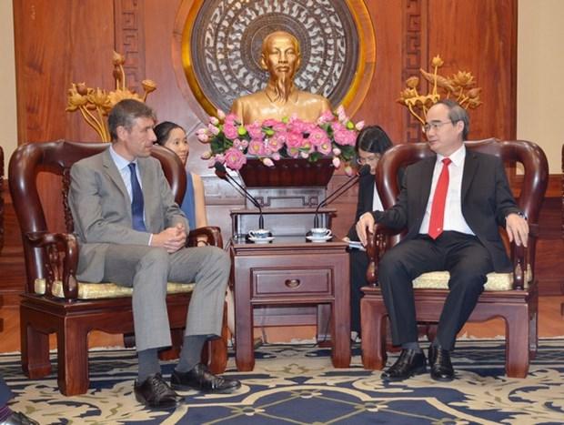 Le Royaume-Uni souhaite investir davantage a Ho Chi Minh-Ville hinh anh 1