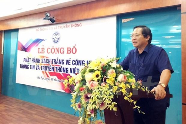 Publication du livre blanc sur les TIC 2017 du Vietnam hinh anh 1